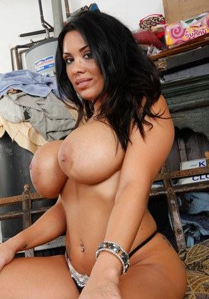 Sienna West is a hot Latina sporting a model enormous bust