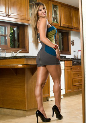 Latina babe Esperanza Gomez showing tits and sexy legs in high heels