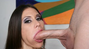 Latina MILF with huge hooters Sheila Marie takes a cock in her twat