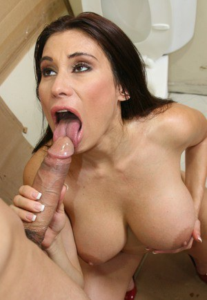 Full-breasted brunette latina Sheila Marie gets fucked hardcore
