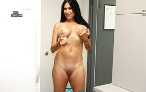 Voluptuous mature gal with gorgeous jugs gets tricked into some naughty action