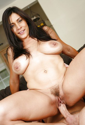 Latina cowgirl Raylene takes part in a sweet cumshot scene with her bf