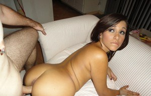 Cute Latina and her ex-lover fucks a storm and filming records the POV action