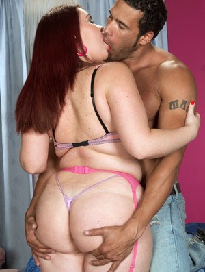 Fat Latina chick Sasha Fox bends her huge butt over for anal sex